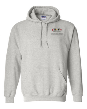 "Operation Iraqi Freedom OIF ""CAB"" Embroidered Hooded Sweatshirt"