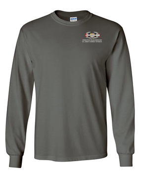 "Operation Iraqi Freedom OIF ""CAB"" Long-Sleeve Cotton T-Shirt"