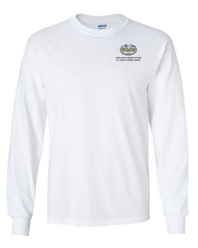 Desert Storm Combat Medical Badge Long-Sleeve Cotton T-Shirt