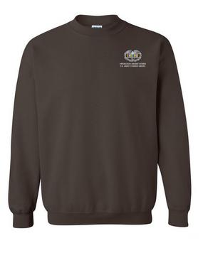 Desert Storm Combat Medical Badge Embroidered Sweatshirt