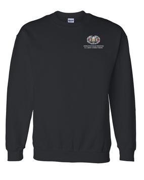 Operation Iraqi Freedom Combat Medical Badge Embroidered Sweatshirt