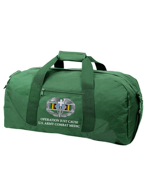 OJC Combat Medical Badge Embroidered Duffel Bag