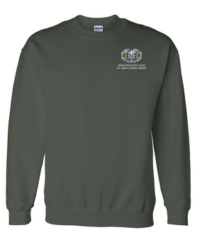 OJC Combat Medical Badge Embroidered Sweatshirt