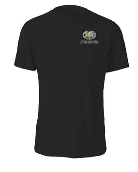 Vietnam Combat Medical Badge Cotton Shirt