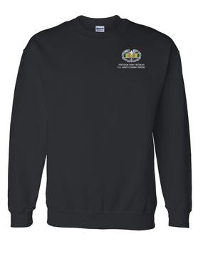 Vietnam Combat Medical Badge Embroidered Sweatshirt