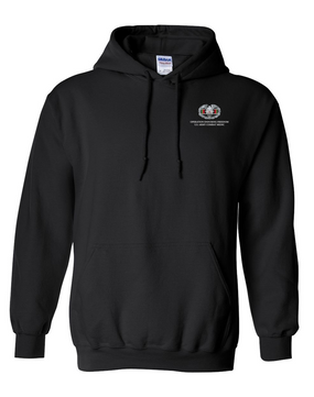OEF Combat Medical Badge Embroidered Hooded Sweatshirt