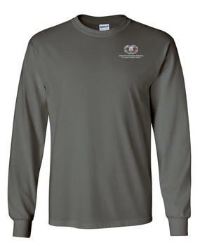 OEF Combat Medical Badge Long-Sleeve Cotton T-Shirt