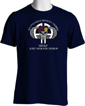 504th Devil Brigade Cotton Shirt