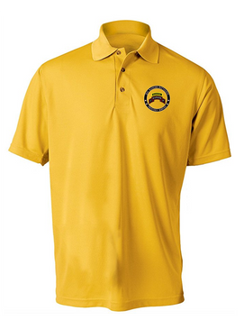 """2-75th Ranger Battalion-Tab- """"Proudly Served""""  Embroidered Moisture Wick Polo Shirt"""