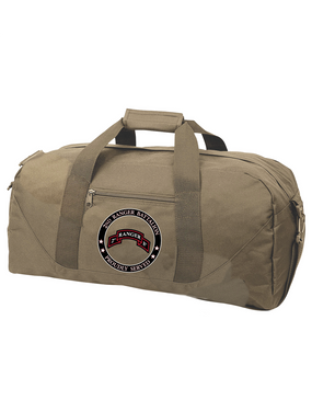 "2-75th Ranger Battalion  ""Proudly Served"" Embroidered Duffel Bag"