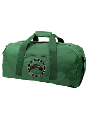 "3-75th Ranger Battalion  ""Proudly Served"" Embroidered Duffel Bag"