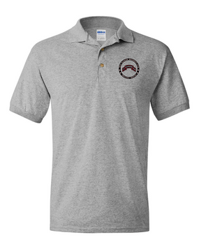 "75th Ranger Regiment (STB) ""Proudly Served"" Embroidered Cotton Polo Shirt"
