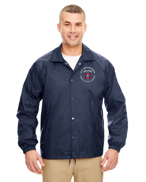 82nd Airborne Division Embroidered Windbreaker