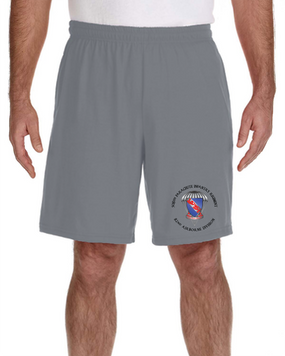 508th PIR Embroidered Gym Shorts
