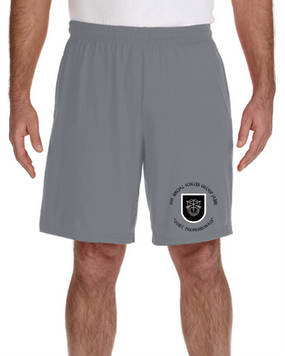 5th Special Forces Group V1 Embroidered Gym Shorts