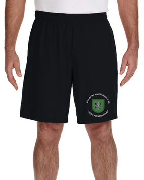 10th Special Forces Group  Embroidered Gym Shorts