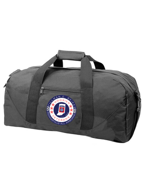 Indiana Chapter Embroidered Duffel Bag