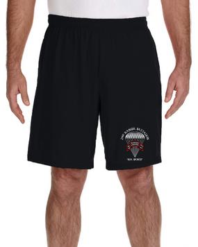 2/75th Ranger Battalion-Original- Embroidered Gym Shorts