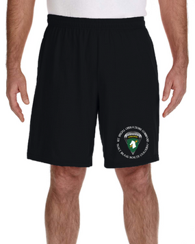 1st Special Operations Command SOCOM Embroidered Gym Shorts