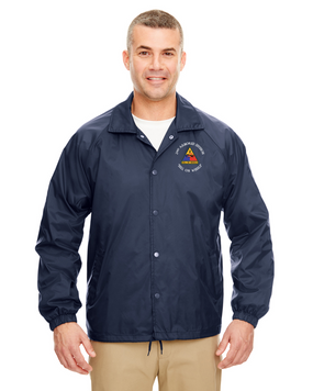 2nd Armored Division Embroidered Windbreaker