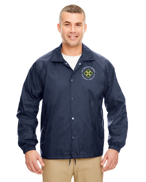 4th Infantry Division Embroidered Windbreaker