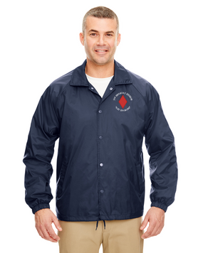 5th Infantry Division Embroidered Windbreaker