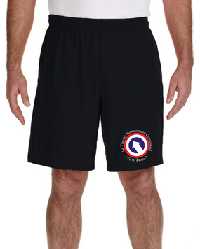 1st TSC Embroidered Gym Shorts