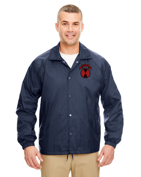 MANCHUS Embroidered Windbreaker