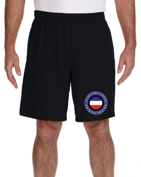 FORSCOM Embroidered Gym Shorts