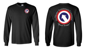 1st TSC (A)  Long-Sleeve Cotton T-Shirt
