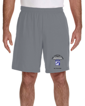 18th Airborne Corps Embroidered Gym Shorts