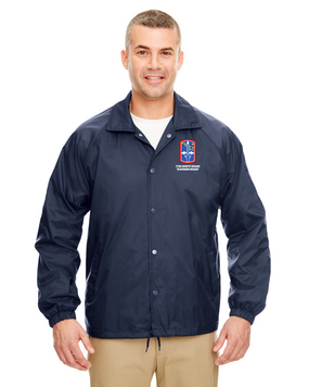 "172nd Infantry Brigade ""Blackhawk"" Embroidered Windbreaker"