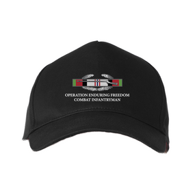 Operation Enduring Freedom -OEF- Embroidered Baseball Cap