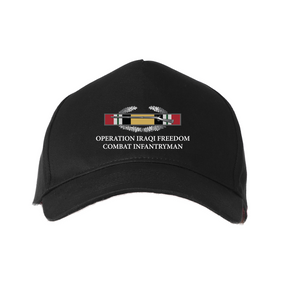 Operation Iraqi Freedom -OIF- Embroidered Baseball Cap