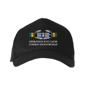 Operation Just Cause - OJC-Embroidered Baseball Cap