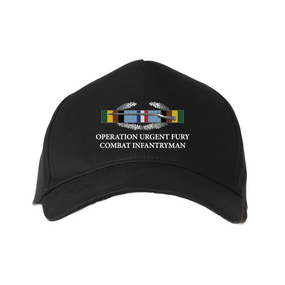 Operation Urgent Fury -OUF- Embroidered Baseball Cap