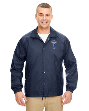 193rd Infantry Brigade (Airborne) Embroidered Windbreaker