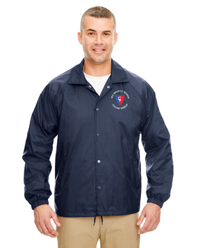 38th Infantry Division Embroidered Windbreaker