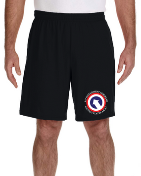 COSCOM Embroidered Gym Shorts