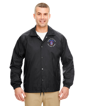 US Army Honor Guard Embroidered Windbreaker