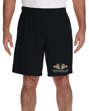 "Desert Storm ""CIB""  Embroidered Gym Shorts"