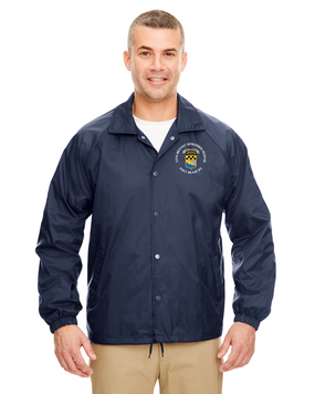 525th MI Brigade Embroidered Windbreaker