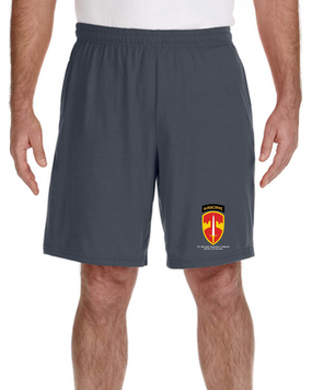 MACV (Airborne) Embroidered Gym Shorts