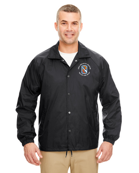 198th Infantry Brigade Embroidered Windbreaker