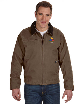 49th Armored Division Embroidered DRI-DUCK Outlaw Jacket