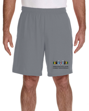 Operation Just Cause -CIB Embroidered Gym Shorts -(Arrowhead)