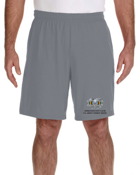 Operation Just Cause-CMB- Embroidered Gym Shorts