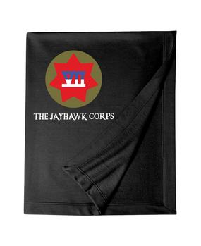 VII Corps Embroidered Dryblend Stadium Blanket