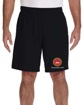 VII Corps Embroidered Gym Shorts
