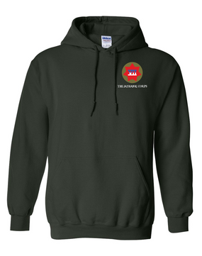 VII Corps Embroidered Hooded Sweatshirt